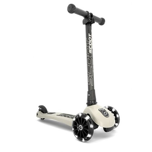 Scoot and Ride Highwaykik 3 LED roller Ash