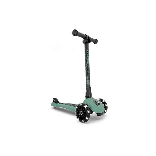 Scoot and Ride Highwaykik  3 LED roller FOREST