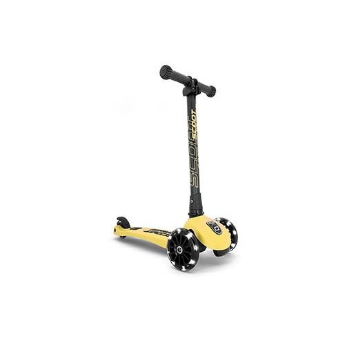 Scoot and Ride Highwaykik  3 LED roller Peach