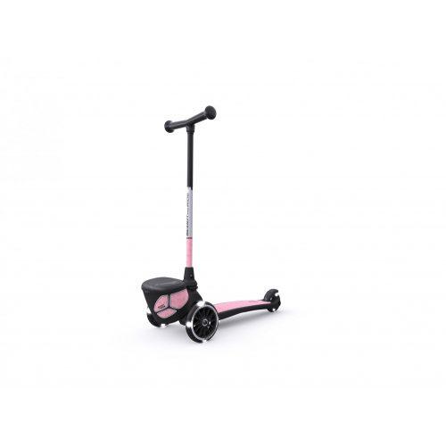 Scoot&Ride HIGHWAYKICK 2 Lifestyle Rose Fényvisszaverős  LED  Roller